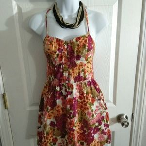 Forever 21 floral dress size small petite